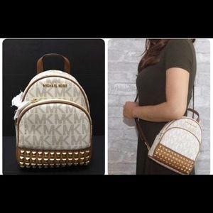 Michael Kors mini backpack- studded